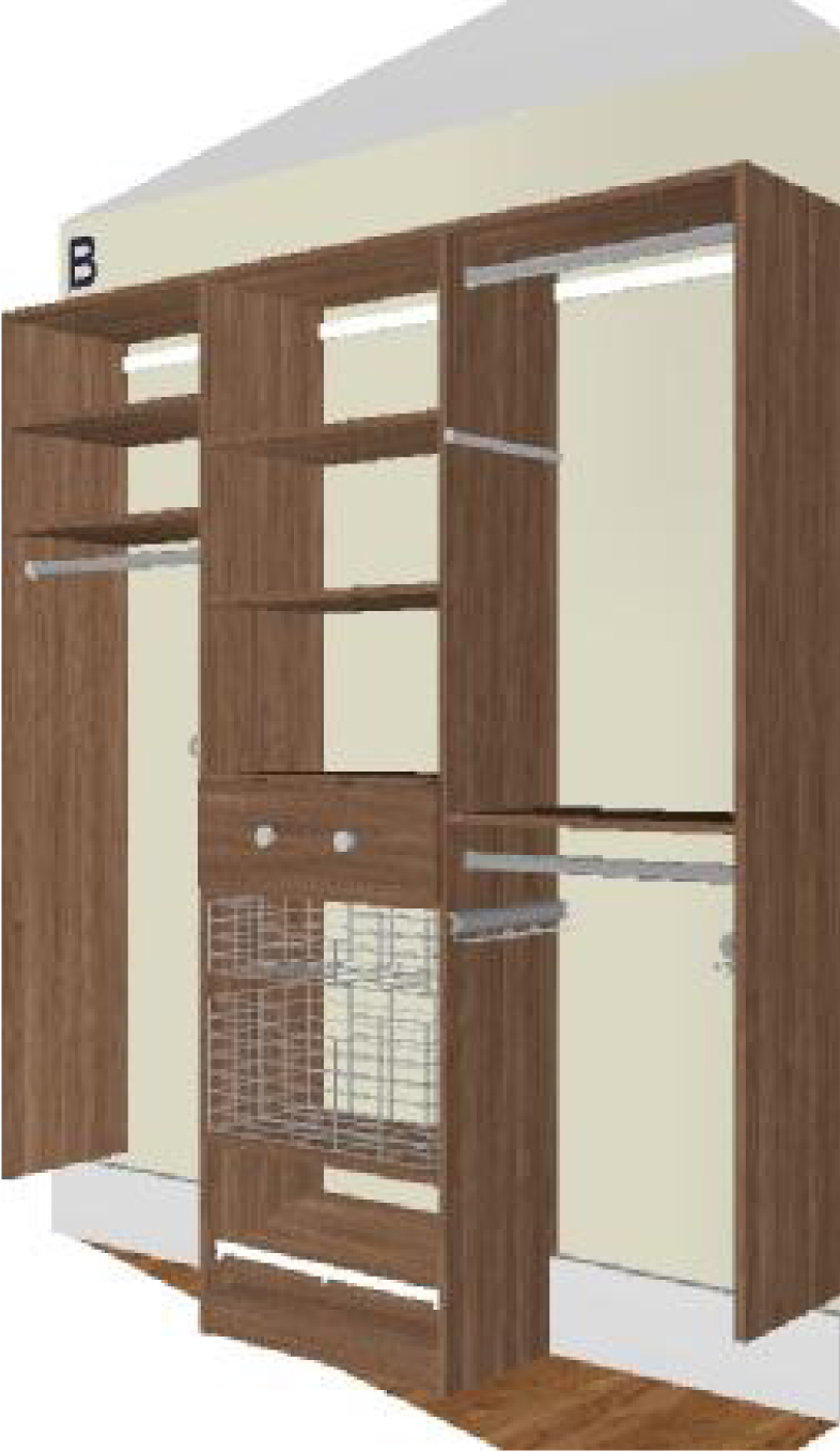 A Sample Model Unit For 118 From California Closets